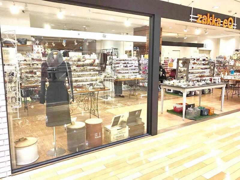 zakka eQ アミュプラザ鹿児島店